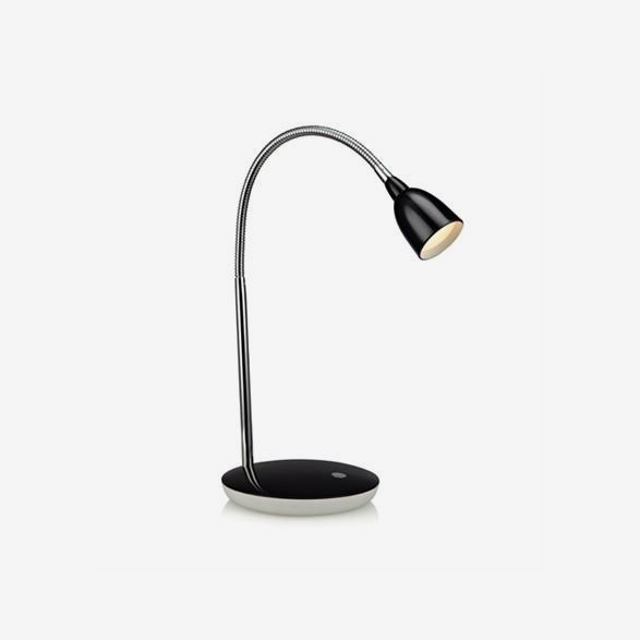 Tulip Bordlampa LED  -  Svart