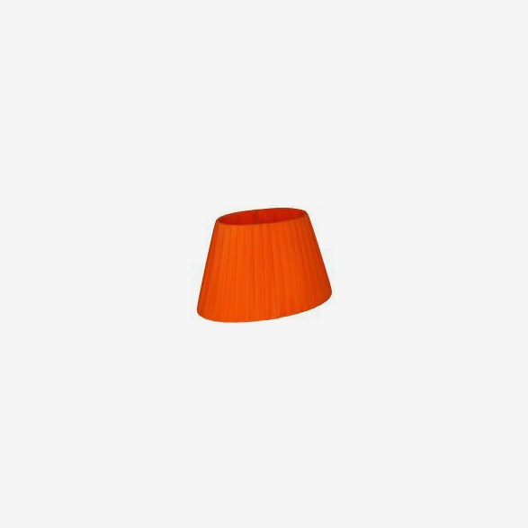 Lampskärm Oval Orange  -  22cm
