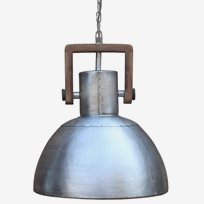 Ashby Single Taklampa 39cm Silver